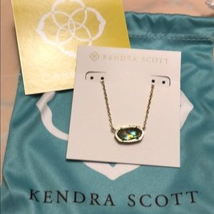 Kendra Scott Elisa Necklace In Abalone